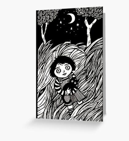 The Dark Dead Meadow Greeting Card