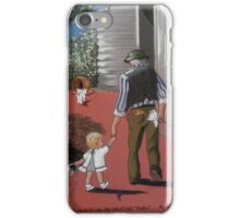 THE OLD REPROBATE + THE ANGEL iPhone Case/Skin