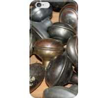 Antique doorknobs iPhone Case/Skin