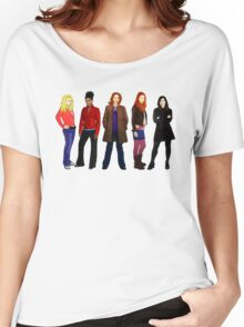 Doctor Who - The Companions Women's Relaxed Fit T-Shirt