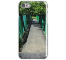 Steel Pedestrian Bridge iPhone Case/Skin
