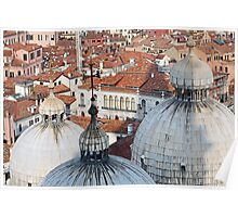 The Rooftops of Venice Poster