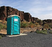 Outhouse with a View by Julia Washburn