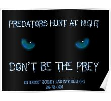 Don't be the prey Poster