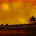 Evening On The Pier by Katy Breen