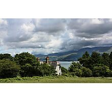 Cottage at Menai Photographic Print
