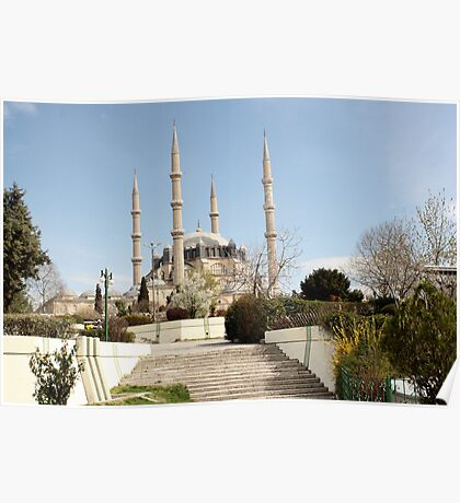 Edirne mosque Poster
