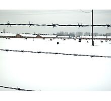 Birkenau In Winter Deep In Snow Photographic Print