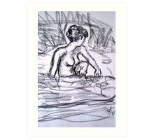 Bathing Beauty II Art Print