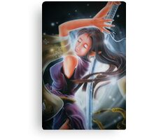 warrior girl Canvas Print