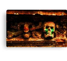 and death wept  Canvas Print
