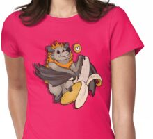 Batty About Bananas Womens Fitted T-Shirt