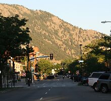 The Streets of Boulder by Dean Mucha