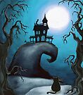 Haunted Mansion on Old Witch Hill  by Annya Kai