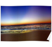 Beach At Dusk - South of Western Australia Poster