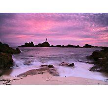 """""""The Soft Tide at La Corbiere"""" Photographic Print"""