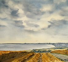 Across the Bay to Barmston by Glenn Marshall
