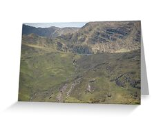 Kerry Mountains Killarney lakes in Ireland 20 Greeting Card