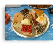 Assorted Cakes Canvas Print