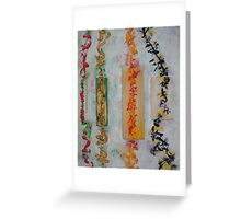 Japanese Sutras Greeting Card