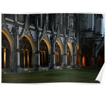 Arches Aglow Poster