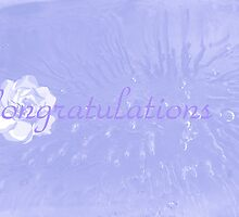 Rose on Ice Congrats card by sarnia2