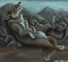 Kicked Back Canine by Lacey 'Tak' Ewald