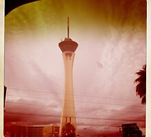 Stratosphere Hotel, Las Vegas by Sarah Louise English