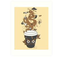Awaken Coffee Art Print
