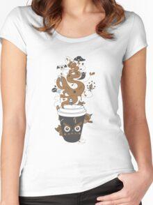 Awaken Coffee Women's Fitted Scoop T-Shirt