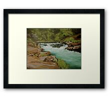 Afternoon at the Narrows Framed Print