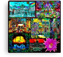 ART LIBERATION PROJECT on the Late Great Planet Earth Canvas Print
