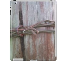 Wooden Barbed Wire  iPad Case/Skin