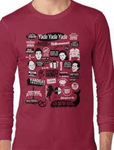 Seinfeld Quotes Long Sleeve T-Shirt