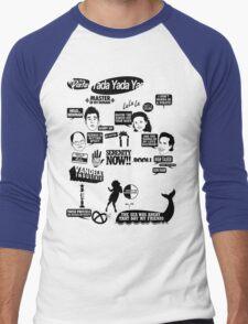 Seinfeld Quotes Men's Baseball ¾ T-Shirt