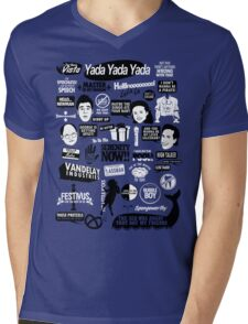 Seinfeld Quotes Mens V-Neck T-Shirt