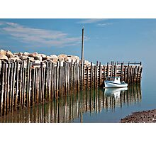 Margaretsville Wharf Photographic Print