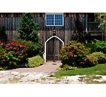 The Vintner's Entrance Photographic Print