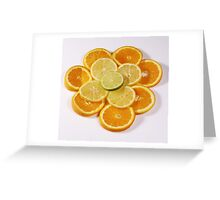 Oranges and Lemons (with a touch of lime!) Greeting Card