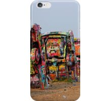 The Underside ~ Cadillac Ranch iPhone Case/Skin