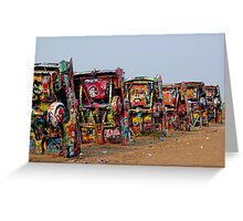 The Underside ~ Cadillac Ranch Greeting Card