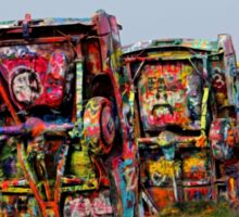 The Underside ~ Cadillac Ranch Sticker