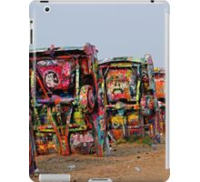 The Underside Cadillac Ranch Cars iPad Case/Skin