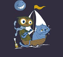The Owl and the Sea Sick Pussy Cat Unisex T-Shirt