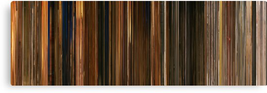 Moviebarcode: Fantastic Mr. Fox (2009) by moviebarcode