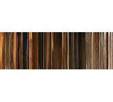 Moviebarcode: Fantastic Mr. Fox (2009) Photographic Print