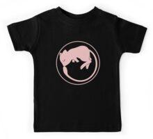 Mew Ouroboros - pink- Kids Tee