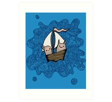 The Boat Trip Art Print