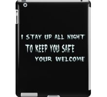 Your Welcome iPad Case/Skin