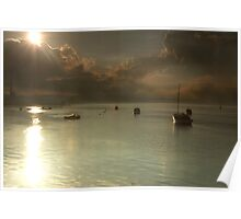 Port Sunset Poster